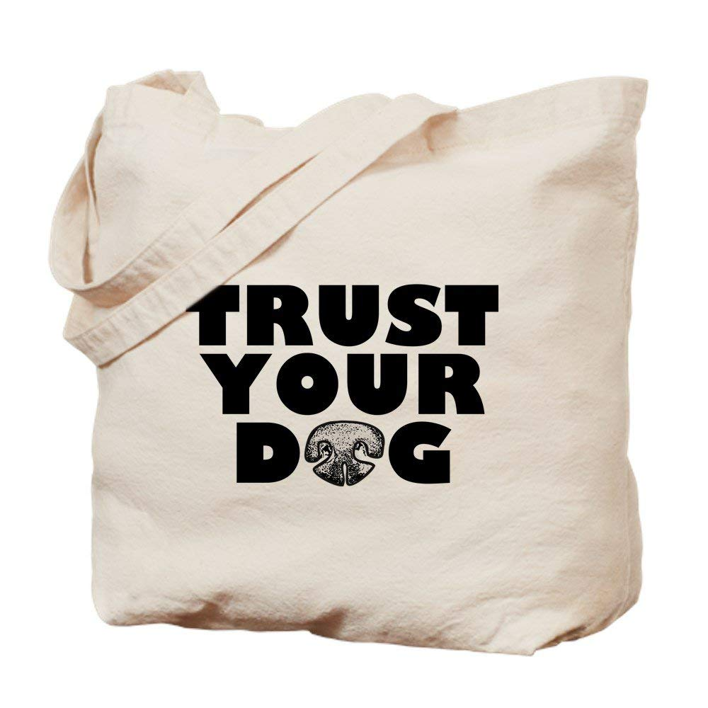 57ded65240 Get Quotations · CafePress - Trust Your Dog - Natural Canvas Tote Bag