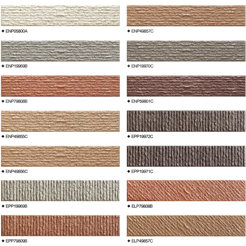 Good looking design exterior wall tiles linear cut for Time saver details for exterior wall design