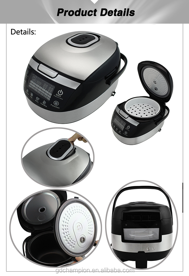 Guangzhou Best Home Mlti-function Digital Rice Cooker