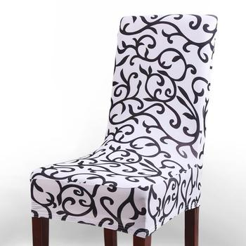 Marvelous Wq33 Printed Pattern Chair Covers Universal Size Simple And Short Elastic Wedding Spandex Chair Cover Buy Chair Cover Spandex Wedding Decoration Andrewgaddart Wooden Chair Designs For Living Room Andrewgaddartcom