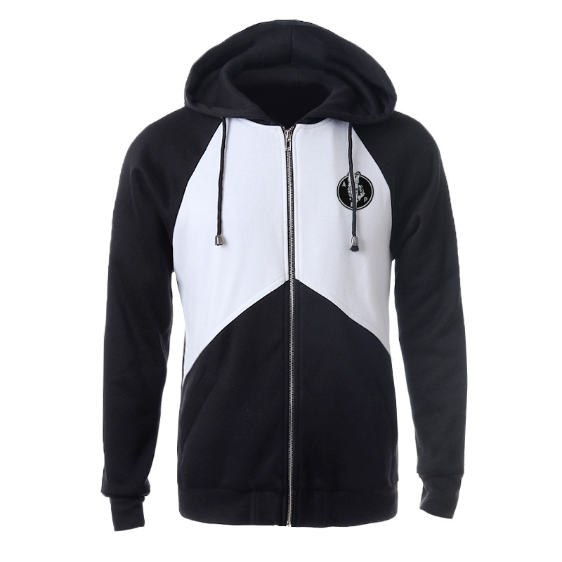 Onen black and white men sweatshirts cheap pullover hoodies wholesale