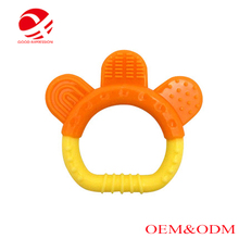 Eco-friendly cheap round shape pendant teether