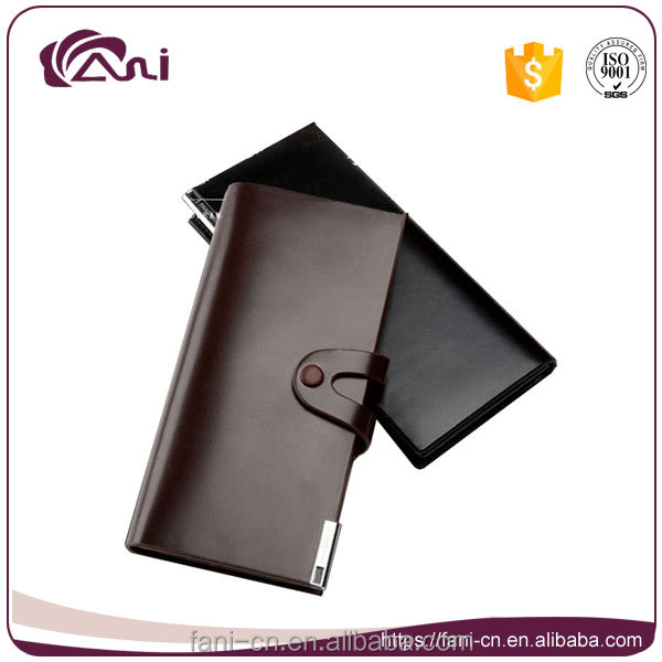 black brown minimalist genuine leather wallet,men slim wallet for sale
