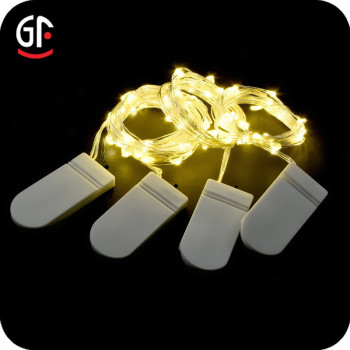 CR2032 Battery Operated Mini 2M 20LED Micro Copper Wire LED Fairy String Lights