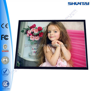 Chinese ultra slim picture battery powered led light box advertising graphical