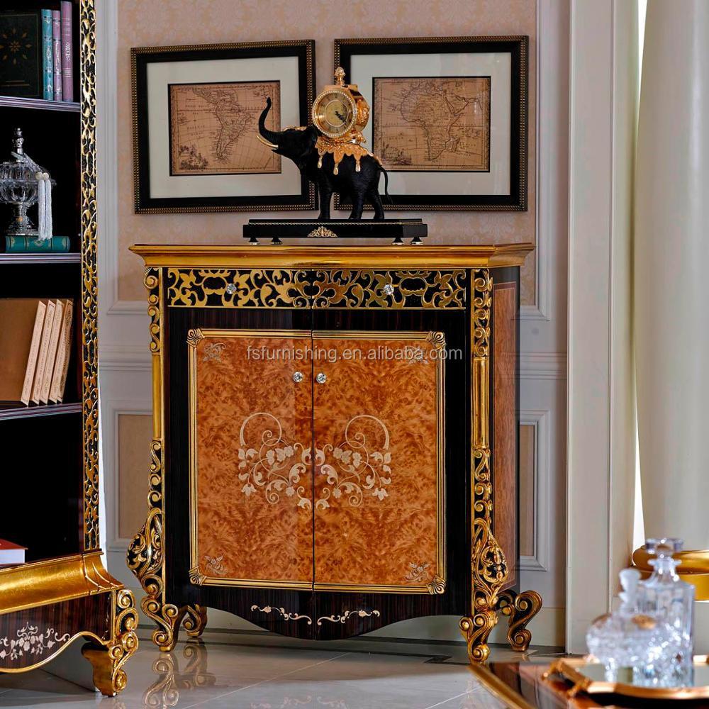 Yb061 Lujo Royal Italiano Caoba 6 Puerta Grande Armario Cl Sico  # Muebles Postmodernos
