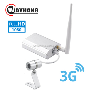 1080P Network IP 3G Sim Card CCTV Security Cam Wireless Wired 3G WCDMA Camera