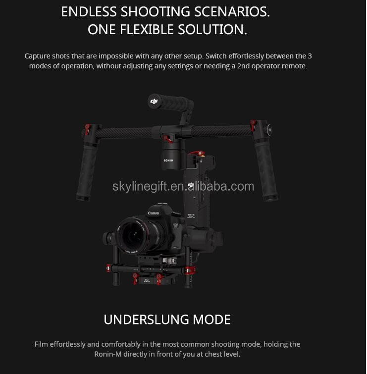 DJI Ronin-M 3-Axis Handheld Gimbal Stabilizer for film making/photography use