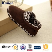 colorful printing crochet warm winter house shoes in bulk