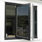 Australian Standard aluminium windows folding glass window ventilation bifold window