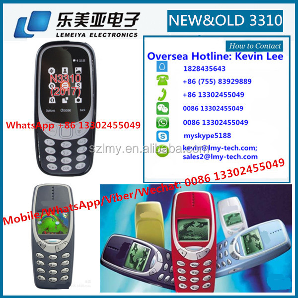 2017 new Original cellphone baby & kids & old man and young man mobile phone Wholesale for Nokia 3310 105 1050 107 108 1280 1650