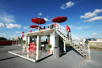 Mobile Bars/container Bar/prefabricated Contianer Shop Store - Buy ...