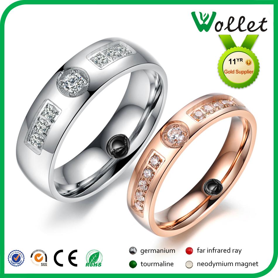 8mm fashion cz stone gold wedding rings tungsten wedding ring plastic wedding rings - Plastic Wedding Rings