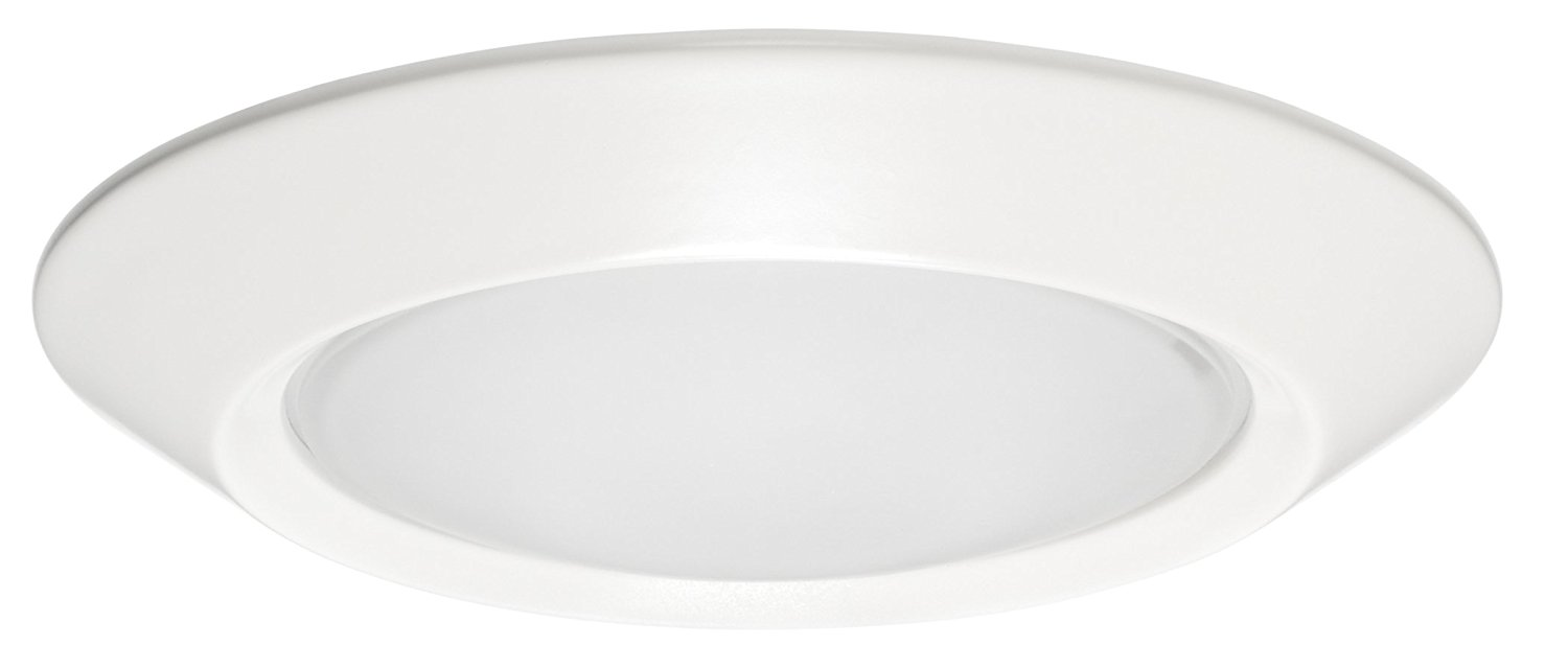 Juno 4403FROST-SC 4 4 inch Low Voltage Round IC Rated Recessed Trim 50 Total Watts Halogen
