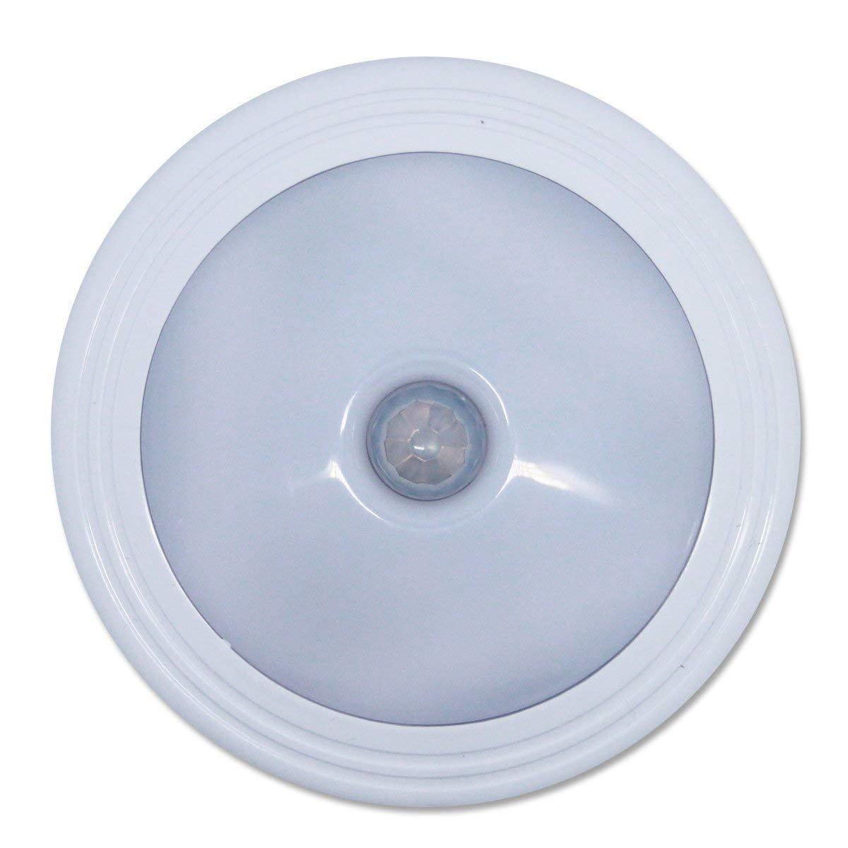 Motion Sensor Closet Light Battery Powered Self Stick Perfect in Closet Lighting Night Light Tap on Lights for Bathroom Bedroom Nursery [3 Pack]