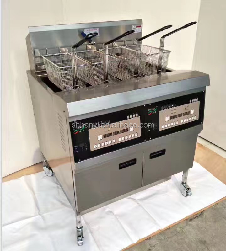 Best Quality Electric <strong>Deep</strong> <strong>Fryers</strong> <strong>Commercial</strong> Electric Chicken Pressure <strong>Fryer</strong> for Bakery Equipment