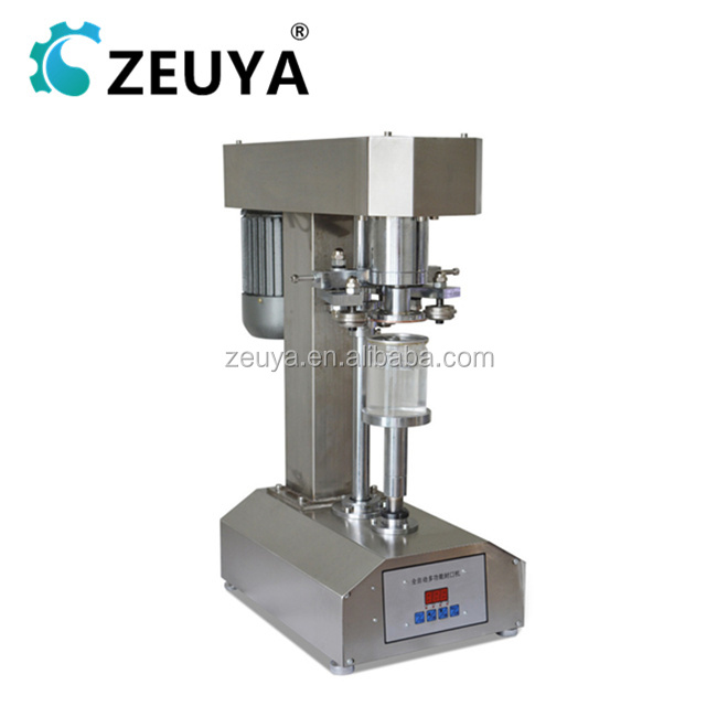 Semi Automatic Stainless Steel Cover Tin Can Sealing Machine with Time Gap Setting TDFJ-160SP