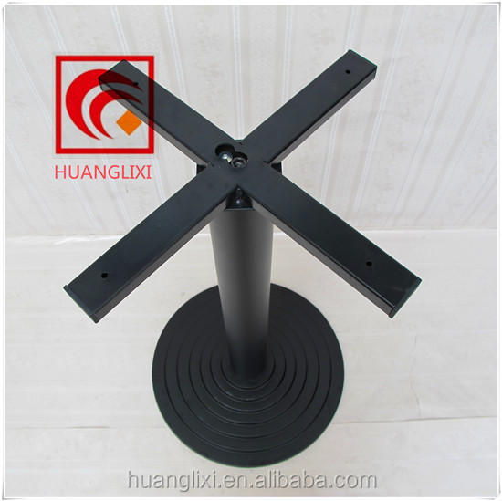 Round Cast Iron Table Base For Canteen