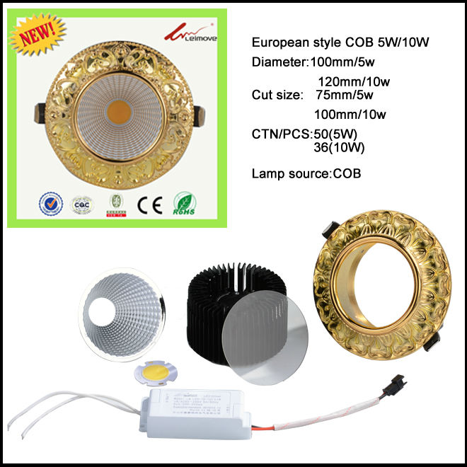 Leimove recessed led recessed downlights white milky for customization-2