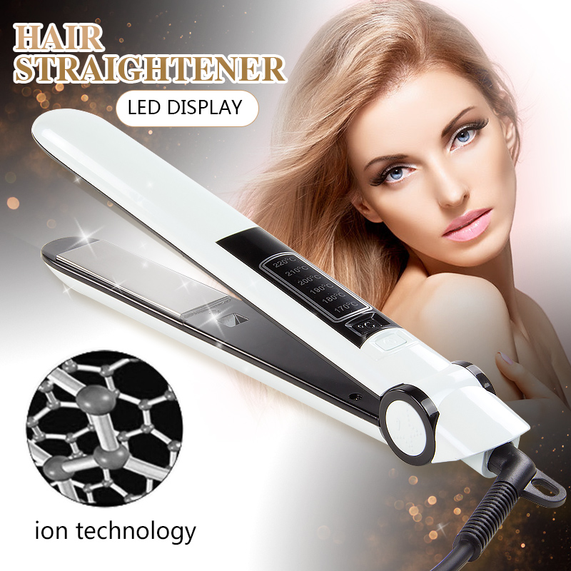 2017 Online sales ionic function flat iron professional hair straightener