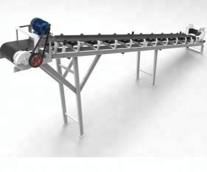 conveyor belt shot blasting machine / nylon fabric conveyor belt / belt conveyor pulley lagging