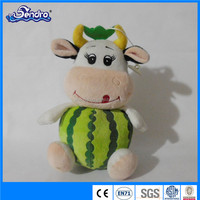 Customized bulls cute style watermelon cows kid toys