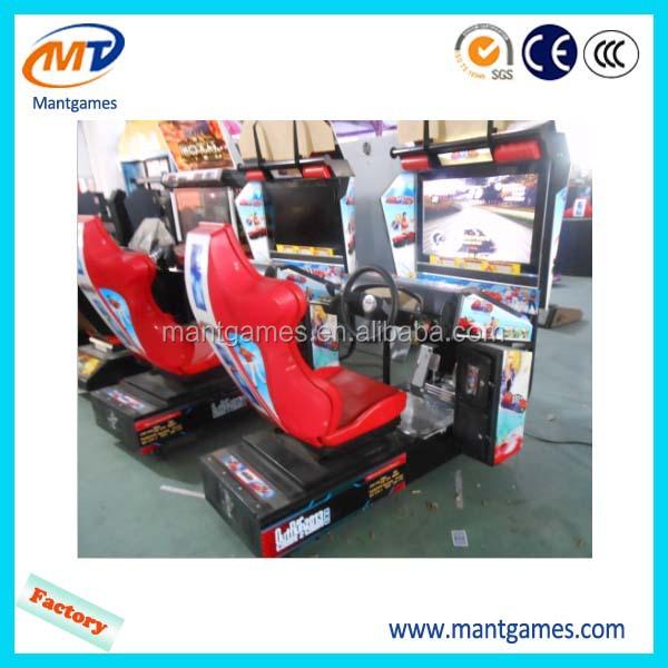 2015 Popular Out Run Simulator Arcade Racing Car Game /video ...