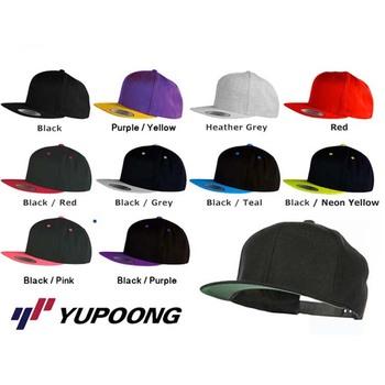 Flexfit Classic custom Plain Snapback Baseball Blank Snap Back Hat Cap  Yupoong 9ab5f497830