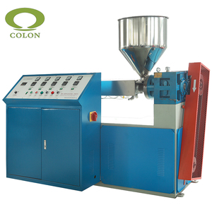 PP PE Plastic material drinking straw and coffee stick making machine