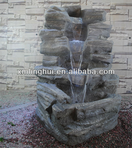 Fabrication handmake r sine rocaille jardin fontaine for Fontaine de jardin truffaut