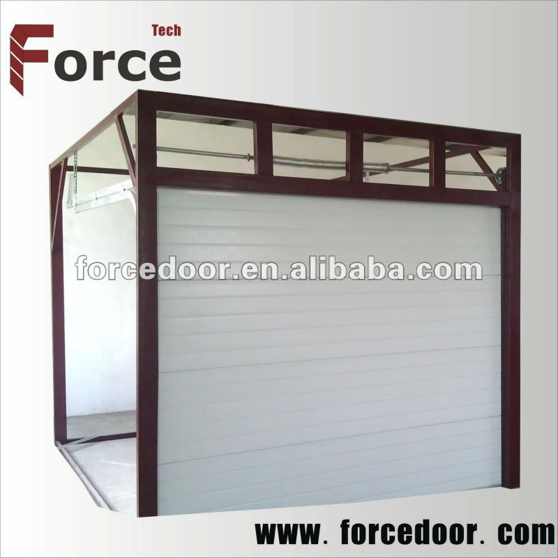 High quality of security side opening garage doors