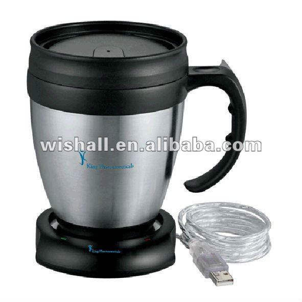 factory supply new design cup warmer pad USB2.0 HUB