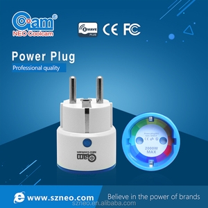 NEO zwave plus certified mini plug socket with EU and US type