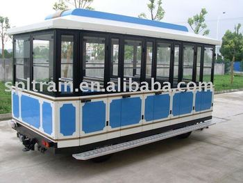CE approved Closed train carriage