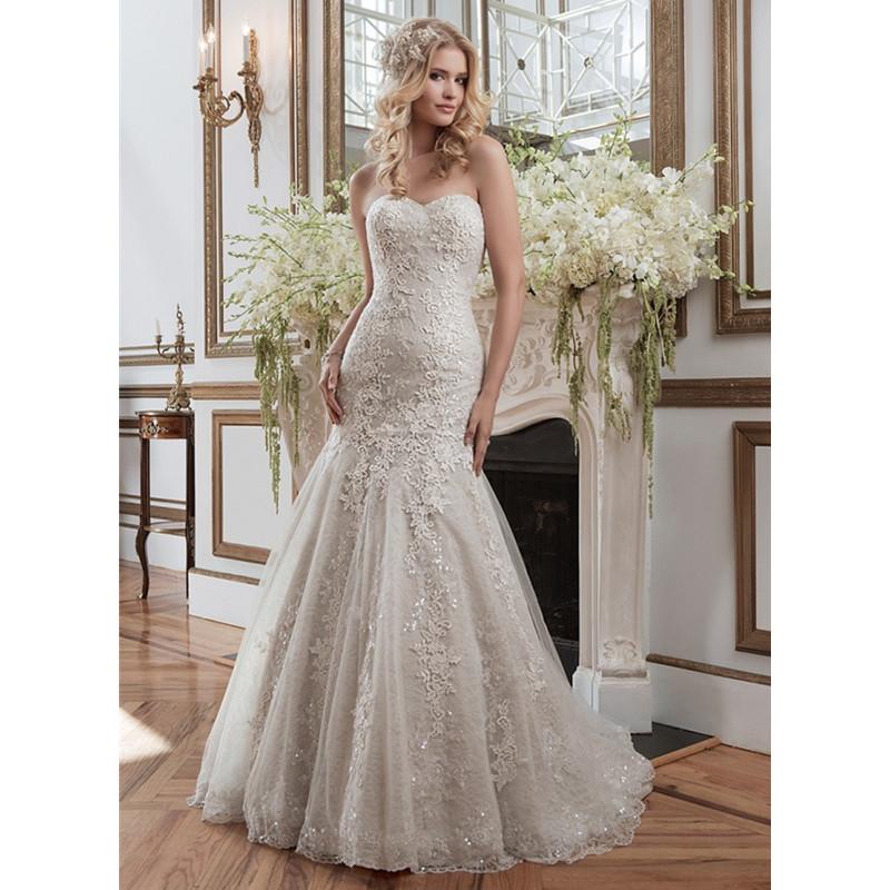 2015 Hot Sale Romantic Sweetheart Lace Mermaid Wedding