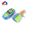 Cute music mobile phone plastic lock and key toy for kids