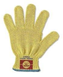 Ansell Size 8 Goldknit Medium Weight Kevlar String Knit Cut Resistant Gloves
