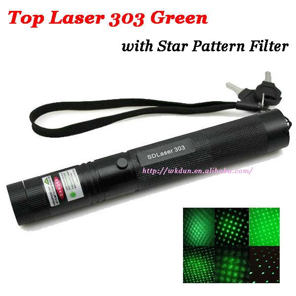 Hot Sale Top Laser 303 Green Laser Pointer Adjustable Focal Length ...