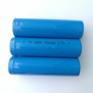 High Quality Low Price Rechargeable 2500mAh lithium 18650 Li ion battery batteries 18650 3.7v battery