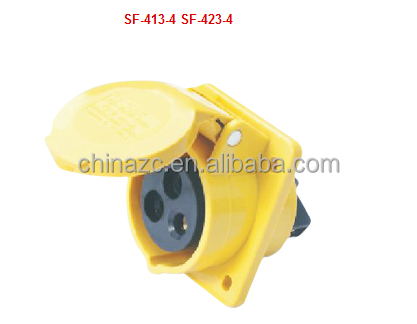 3p 16a 32a SF-413-4 Hide inclined socket