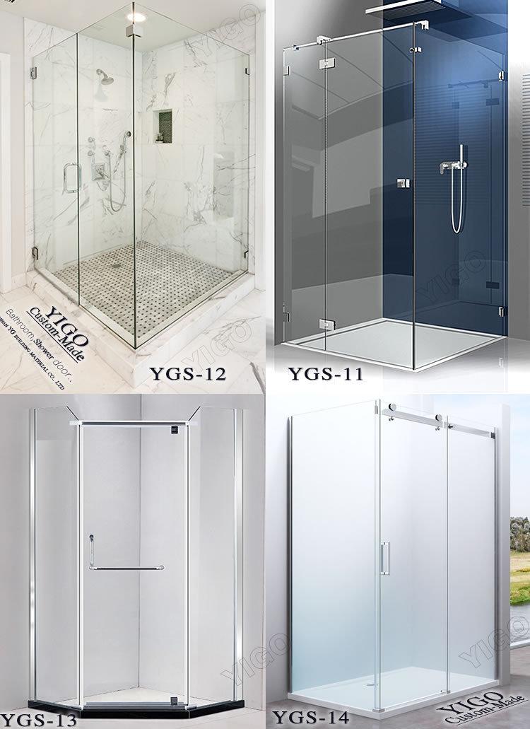 Manufacturer Of 8mm Sliding Door Portable Toilet And Shower Room