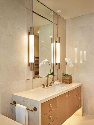 Color beige m rmol y azulejos mabrle ba o dise o de piso for Banos color marmol