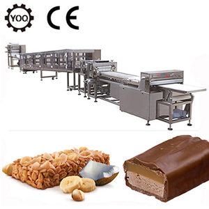 Z1455 healthy snack chocolate nut cereal energy bar making machine