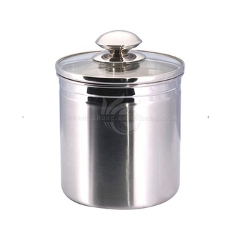 Outstanding Stainless Steel Kitchen Coffee Canister Sets With Glass Lid Buy Stainless Steel Canister And Scoops Set With Glass Lids Coffee Canister Stainless Best Image Libraries Thycampuscom