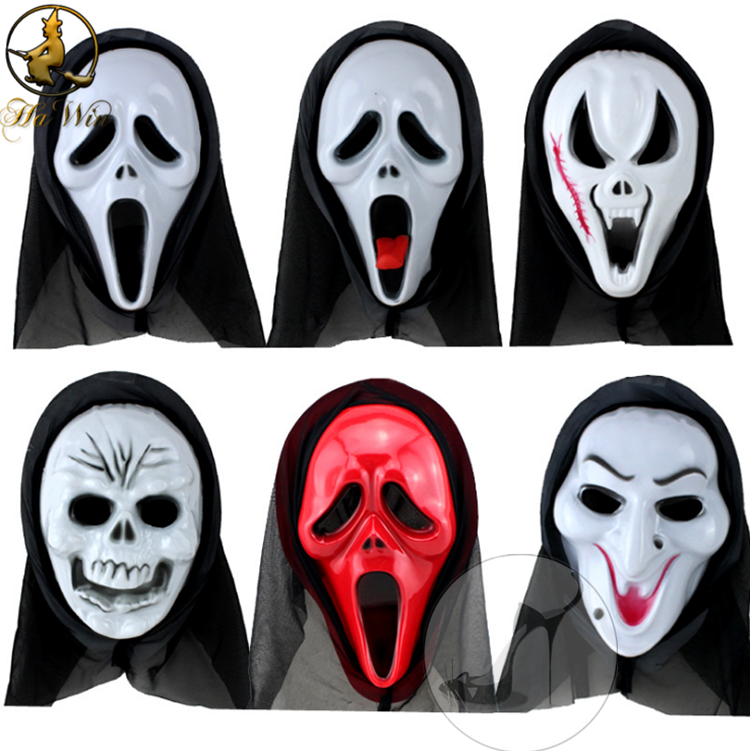 Different design PVC plastic halloween mask