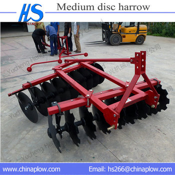 Tractor Used 3 Point Disc Harrow Garden Tractor Disc Harrow