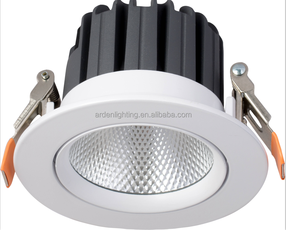 Factory Offer 15W 4 inch adjustable <strong>downlight</strong> with 1450lm IP65 <strong>downlight</strong>