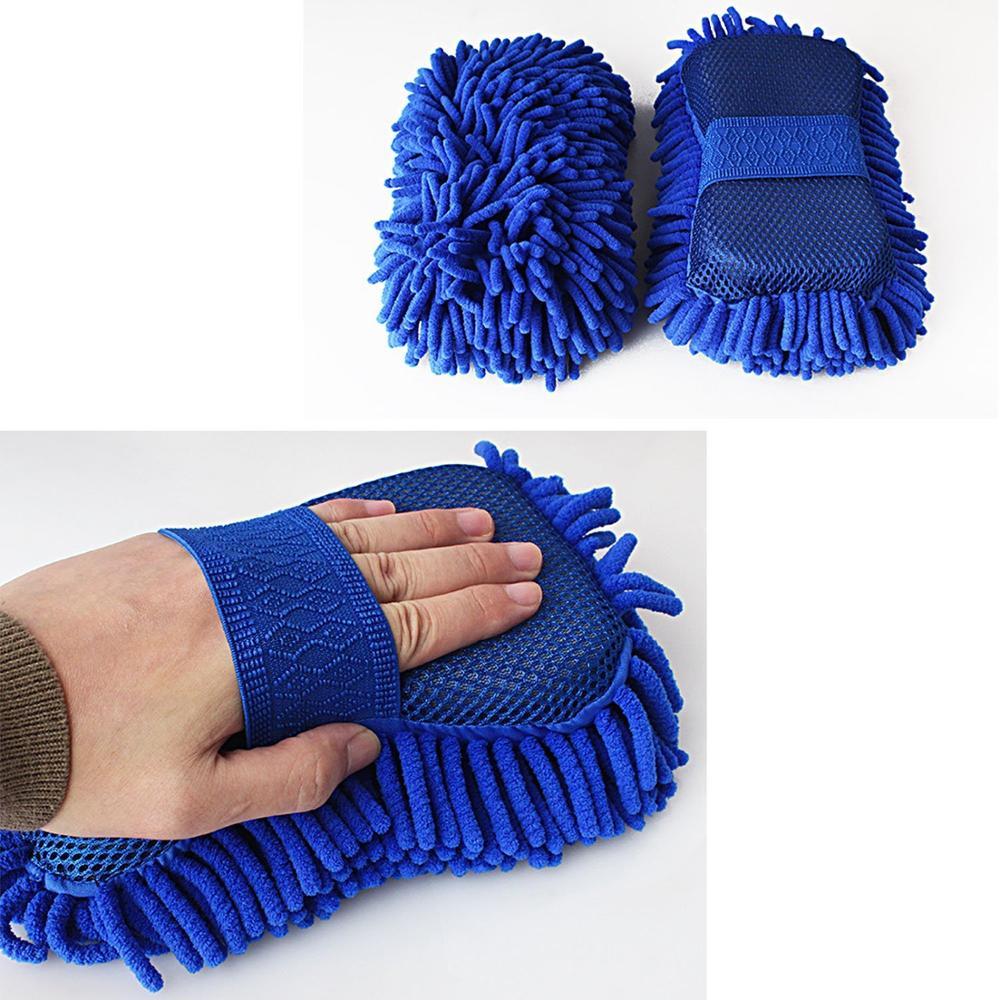 7 in 1 Car wash detailing cleaning kit set with fabric bag sponge towel brush
