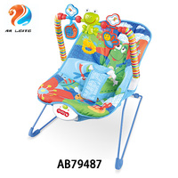 2019 New baby plush rocking chair electric baby bouncer musical baby swing chair