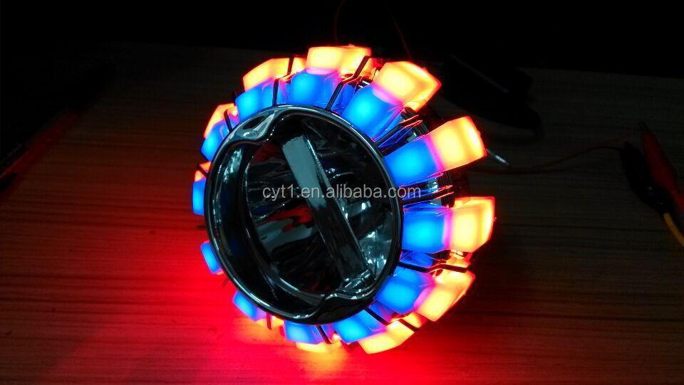 Led Angel Eye K14 Motorcycle Headlamp Projector Headlight